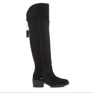 $350 New Coach Janelle Over the Knee Boot 10 B